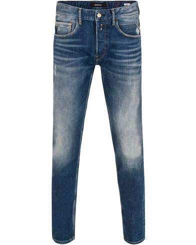 Replay MA946F Ronas Jeans Light Blue i gruppen Jeans / Avsmalnande jeans hos Care of Carl (13001011r)