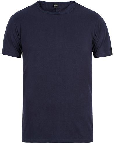 Replay M3030 Crew Neck Tee Navy i gruppen Klær / T-Shirts / Kortermede t-shirts hos Care of Carl (13001611r)
