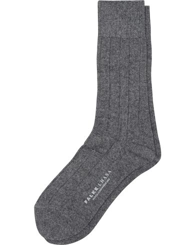 Falke Lhasa Cashmere Socks Light Grey i gruppen Undertøy / Sokker / Vanlige sokker hos Care of Carl (13003411r)