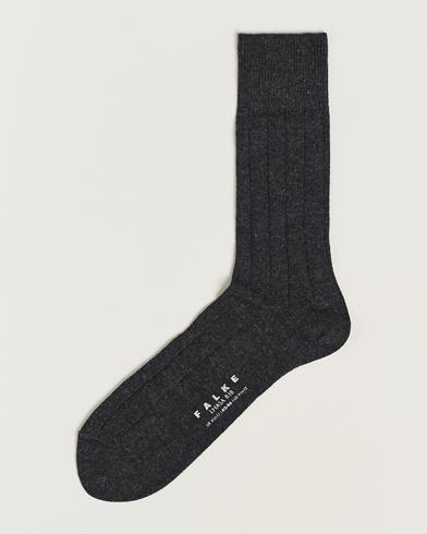 Falke Lhasa Cashmere Socks Antracite Grey i gruppen Undertøy / Sokker / Vanlige sokker hos Care of Carl (13003511r)
