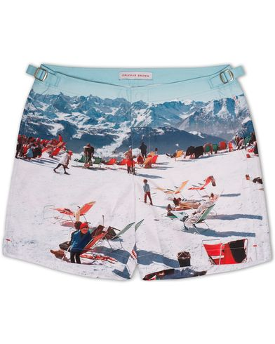 Orlebar Brown Bulldog Hulton Getty Sun Swissed i gruppen Design A / Badeshorts hos Care of Carl (13006311r)