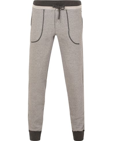 Orlebar Brown Doyle Sweatpants Grey Melange i gruppen Byxor / Mjukisbyxor hos Care of Carl (13006411r)