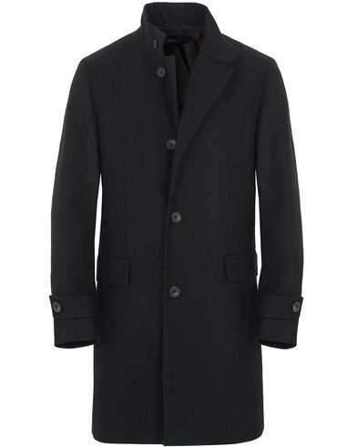 BOSS Sintrax1 Wool Coat Black i gruppen Jakker / Vinterjakker hos Care of Carl (13007111r)
