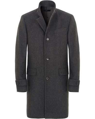 BOSS Sintrax1 Wool Coat Dark Grey i gruppen Jakker / Vinterjakker hos Care of Carl (13007211r)
