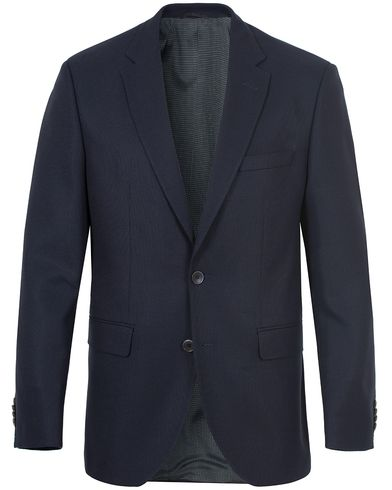 BOSS Jewels Wool Blazer Dark Blue i gruppen Kavajer / Enkelknäppta kavajer hos Care of Carl (13007611r)
