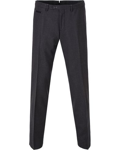BOSS Wilhelm3 Wool Trousers Charcoal i gruppen Klær / Bukser / Dressbukser hos Care of Carl (13008111r)