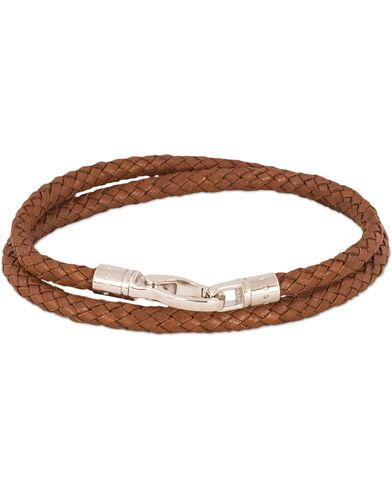 BOSS Benjamin Bracelet Brass Brown i gruppen Assesoarer / Armbånd hos Care of Carl (13010010)