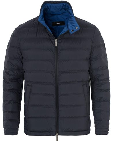 BOSS Daniell Light Weight Jacket Dark Blue i gruppen Kläder / Jackor / Tunna jackor hos Care of Carl (13010511r)