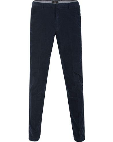 BOSS Kaito 3D Cordoroy Pants Navy i gruppen Bukser / Diverse bukser hos Care of Carl (13011511r)
