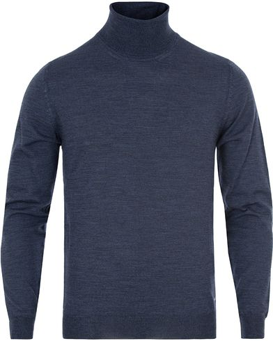 BOSS Musso Merino Rollneck Limoges Mouliné i gruppen Gensere / Pologensere hos Care of Carl (13012711r)