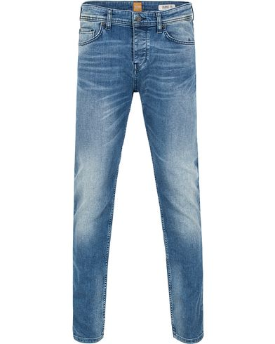 Boss Orange 90 Tapered Fit Jeans Blue i gruppen Jeans / Avsmalnende jeans hos Care of Carl (13014011r)