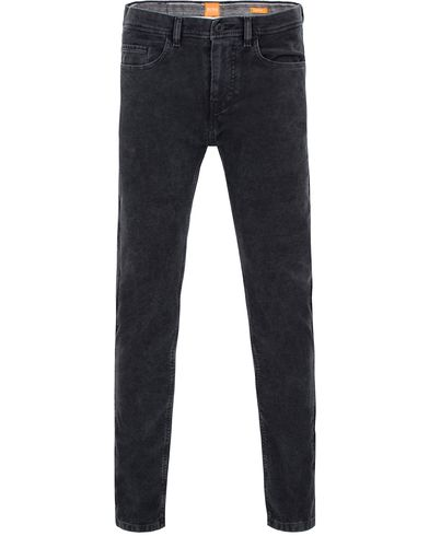 Boss Orange Semo Moleskin Pants Washed Black i gruppen Bukser / 5-lommersbukser hos Care of Carl (13014411r)