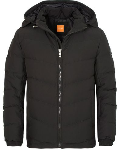 Boss Orange Owillem Hooded Down Jacket Black i gruppen Kläder / Jackor / Vadderade jackor hos Care of Carl (13014511r)