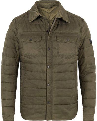 Boss Orange Owilder Shirt Jacket Olive Green i gruppen Jackor / Tunna jackor hos Care of Carl (13014611r)