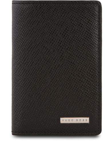 BOSS Signature Bifoldwallet Black Leather  i gruppen Assesoarer / Lommeb�ker hos Care of Carl (13017910)