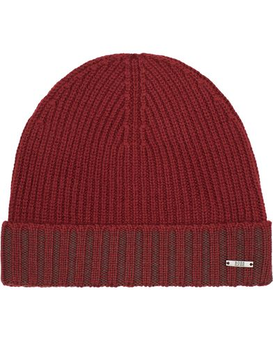 BOSS Fati Wool Beanie Red  i gruppen Accessoarer / Mössor hos Care of Carl (13019410)