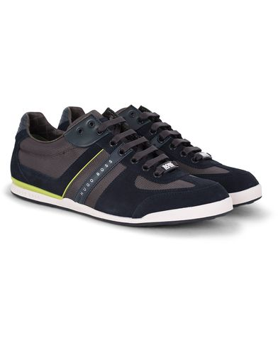 Boss Green Akeen Canvas Sneaker Blue i gruppen Sko / Sneakers / Running sneakers hos Care of Carl (13020611r)