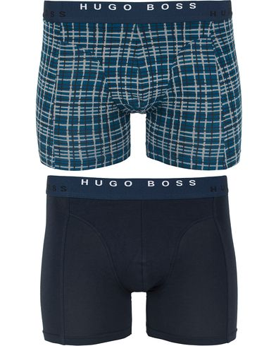 BOSS Cyclist 2-Pack Boxer Blue/Navy i gruppen Undertøy / Underbukser hos Care of Carl (13021711r)