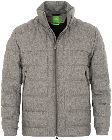 Boss Green Jonkins 1 Jacket Grey Melange i gruppen Jakker / Vatterte jakker hos Care of Carl (13022311r)