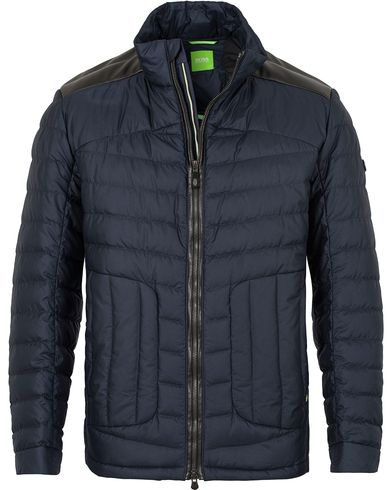 Boss Green Jannick Lightweight Jacket Navy i gruppen Jakker / Tynne jakker hos Care of Carl (13022511r)