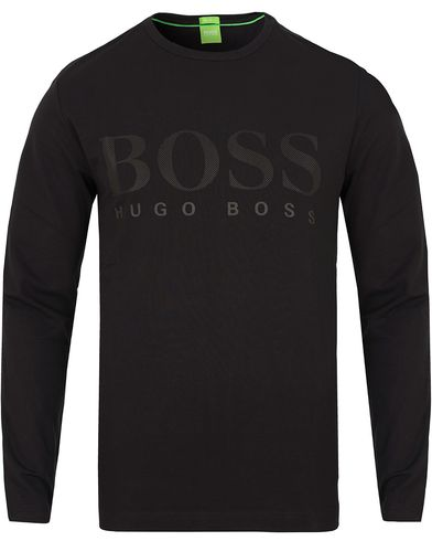 Boss Green Ton US Long Sleeve Tee Black i gruppen T-Shirts / Langermede t-shirts hos Care of Carl (13024411r)