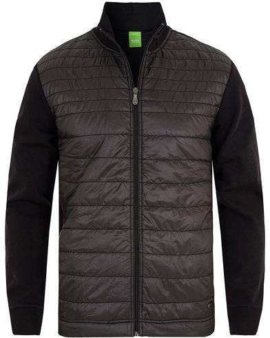Boss Green C-Pizzoli Nylon Full Zip Jacket Black i gruppen Tr�jor / Zip-Tr�jor hos Care of Carl (13024611r)