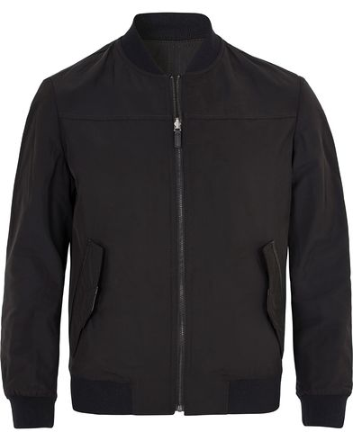 Hugo Bavot Reversible Bomber Jacket Black i gruppen Jackor / Tunna Jackor hos Care of Carl (13025211r)