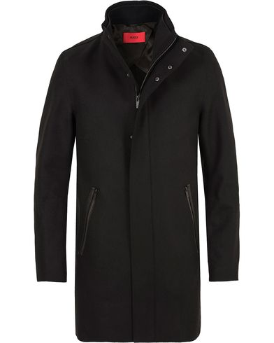 Hugo Mantek Coat Black i gruppen Jakker / Frakker hos Care of Carl (13025311r)