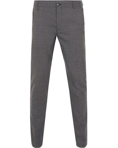 Hugo Heldor Wool Trousers Light Grey i gruppen Kläder / Byxor / Flanellbyxor hos Care of Carl (13025611r)