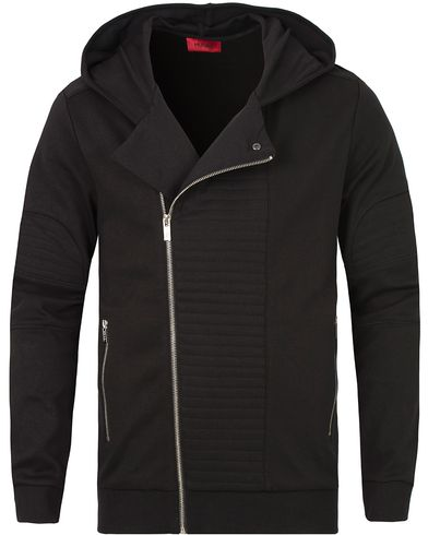 HUGO Dorlando Hooded Sweatshirt Black i gruppen Klær / Gensere / Hettegensere hos Care of Carl (13026411r)