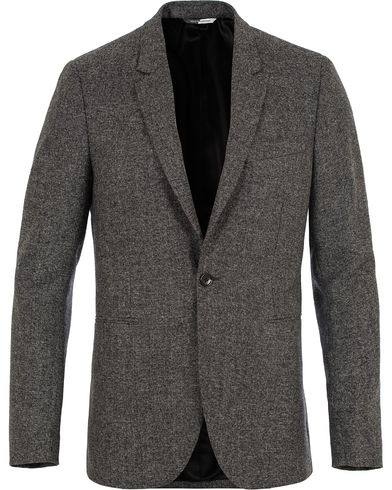 PS by Paul Smith Slim Fit Jacket Grey i gruppen Klær / Dressjakker / Enkeltspente dressjakker hos Care of Carl (13028211r)