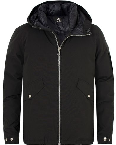 PS by Paul Smith Hooded Down Jacket Black i gruppen Klær / Jakker / Vatterte jakker hos Care of Carl (13028511r)
