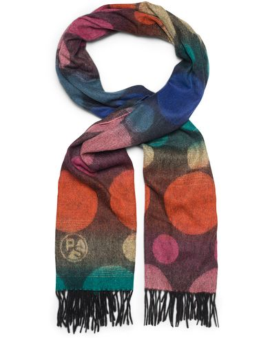PS by Paul Smith Lambswool Dot Scarf Multi  i gruppen Assesoarer / Skjerf hos Care of Carl (13030110)