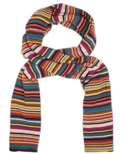 Paul Smith Knitted Striped Scarf Multi  i gruppen Accessoarer / Halsdukar hos Care of Carl (13030510)