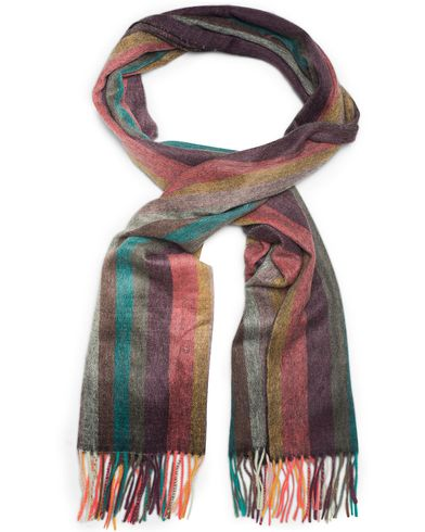 Paul Smith Cashmere Striped Scarf Multi  i gruppen Accessoarer / Halsdukar hos Care of Carl (13030810)