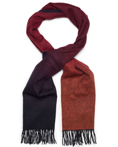 Paul Smith Wool Twofaced Scarf Navy/Red  i gruppen Assesoarer / Skjerf hos Care of Carl (13031110)