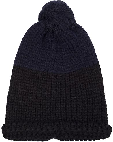 PS by Paul Smith Knitted Beanie Hat Navy  i gruppen Accessoarer / Mössor hos Care of Carl (13031410)