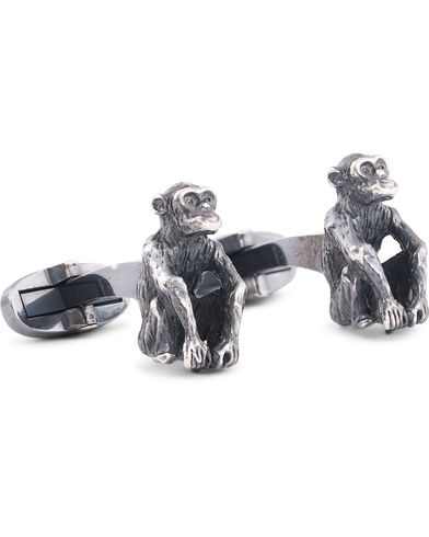 Paul Smith Monkey Cufflinks Brass  i gruppen Accessoarer / Manschettknappar hos Care of Carl (13031810)