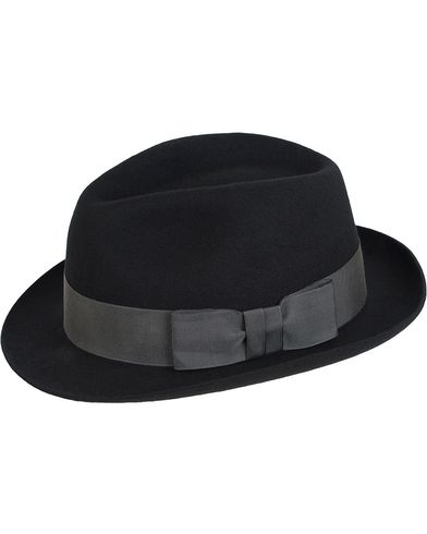 Paul Smith Wool Trilby Hat Black i gruppen Assesoarer / Caps / Hatter hos Care of Carl (13033011r)