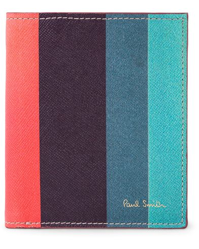 Paul Smith Striped Billford Wallet Multi  i gruppen Assesoarer / Lommebøker / Vanlige lommebøker hos Care of Carl (13034010)