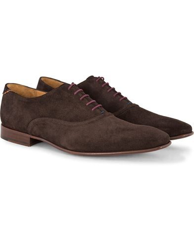 PS by Paul Smith Starling Oxford Ebano Suede i gruppen Skor / Oxfords hos Care of Carl (13035811r)