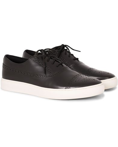 PS by Paul Smith Fairey Brogue Sneaker Black Calf i gruppen Sko / Sneakers / Sneakers med lavt skaft hos Care of Carl (13035911r)