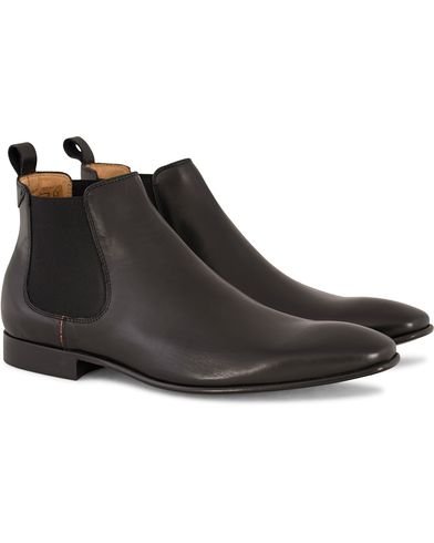 PS by Paul Smith Falconer Chelsea Boot Black Calf i gruppen Sko / Støvler / Chelsea boots hos Care of Carl (13036011r)