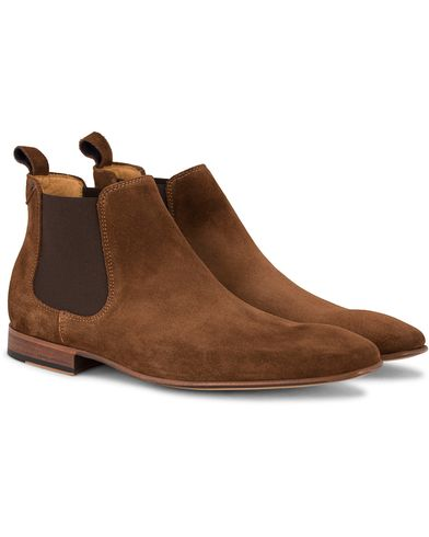 PS by Paul Smith Falconer Chelsea Boot Snuff Suede i gruppen Skor / Kängor / Chelsea boots hos Care of Carl (13036211r)