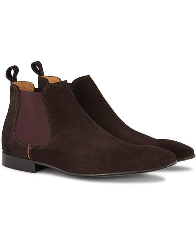 PS by Paul Smith Falconer Chelsea Boot Brown Suede i gruppen Sko / Støvler / Chelsea boots hos Care of Carl (13036311r)