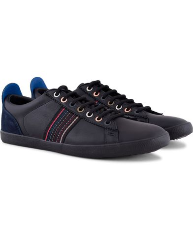 Paul Smith Shoe Osmo Sneaker Black Calf i gruppen Skor / Sneakers hos Care of Carl (13036811r)
