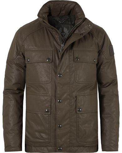 Belstaff Trialmaster Down Coated Jacket Vintage Brown i gruppen Kläder / Jackor / Vadderade jackor hos Care of Carl (13037911r)
