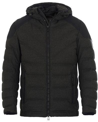 Belstaff Glennwood Wool Down Jacket Black i gruppen Jackor / Vadderade jackor hos Care of Carl (13038111r)