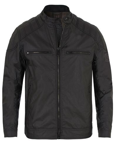 Belstaff Linford Waxed Jacket Black i gruppen Jakker / Voksede jakker hos Care of Carl (13038311r)
