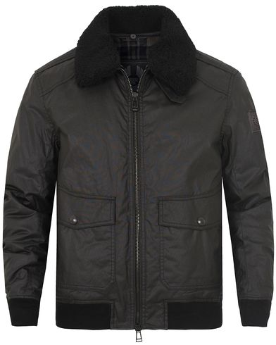 Belstaff Mortimer Shearling Jacket Black i gruppen Jakker / Voksede jakker hos Care of Carl (13038411r)